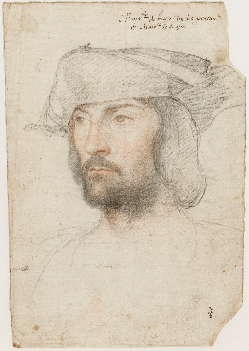 Possible portrait of Joseph Broussard de Beausoleil.  He is identified as one of the governors of the Dauphin. The Dauphin is the son of the King, next in line for the throne.  This portrait would have been done before