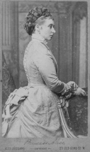 Alice, daughter of Queen Victoria and mother of Tsarina Alexandra of Russia.