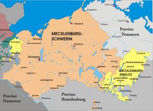Karte-Mecklenburg