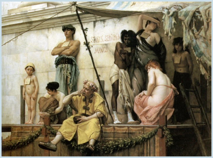 The Slave Market by Gustave Boulanger