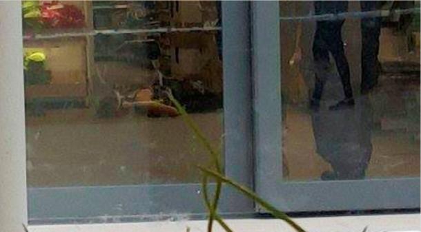 Photo of woman beheaded by Muslim asylum seekers at IKEA in Sweden