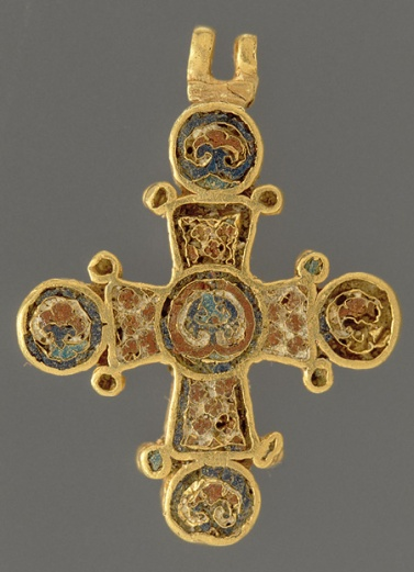 Roman Catholic Christian Cross from Constantinople that is over 1500 years old.
