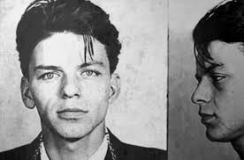 Frank Sinatra as a young man.