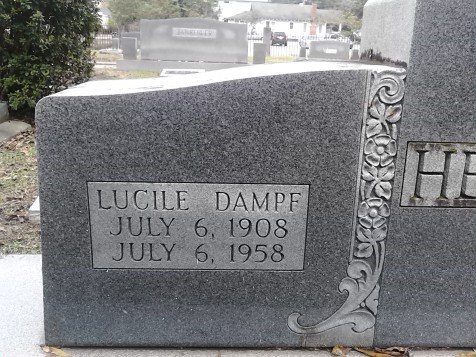 I've heard Trump called by this name, found in the Jewish cemetary in Lafayette, La.