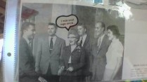 Scarsdale Yearbook 1957: Tilden/Tolson is standing second from the right.