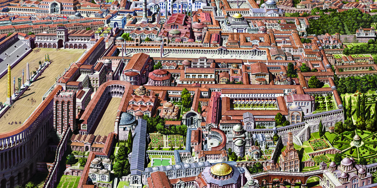 большой дворец константинополь фото прибыли